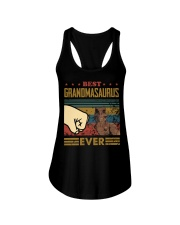GRANDMASAURUS - DINOSAUR - VINTAGE Ladies Flowy Tank thumbnail