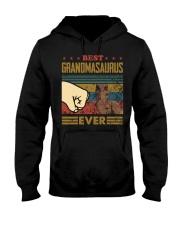 GRANDMASAURUS - DINOSAUR - VINTAGE Hooded Sweatshirt thumbnail