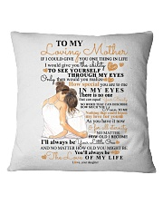 DAUGHTER TO MOM Square Pillowcase thumbnail