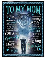 """To My Mom - Lioness - Fleece Blanket Small Fleece Blanket - 30"""" x 40"""" front"""