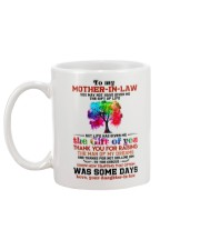 TO MY MOTHER-IN-LAW - TREE - THANK YOU Mug back