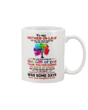 TO MY MOTHER-IN-LAW - TREE - THANK YOU Mug front