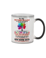 TO MY MOTHER-IN-LAW - TREE - THANK YOU Color Changing Mug thumbnail