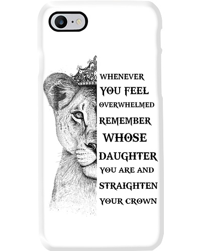 TO DAUGHTER - LIONESS - PHONECASE