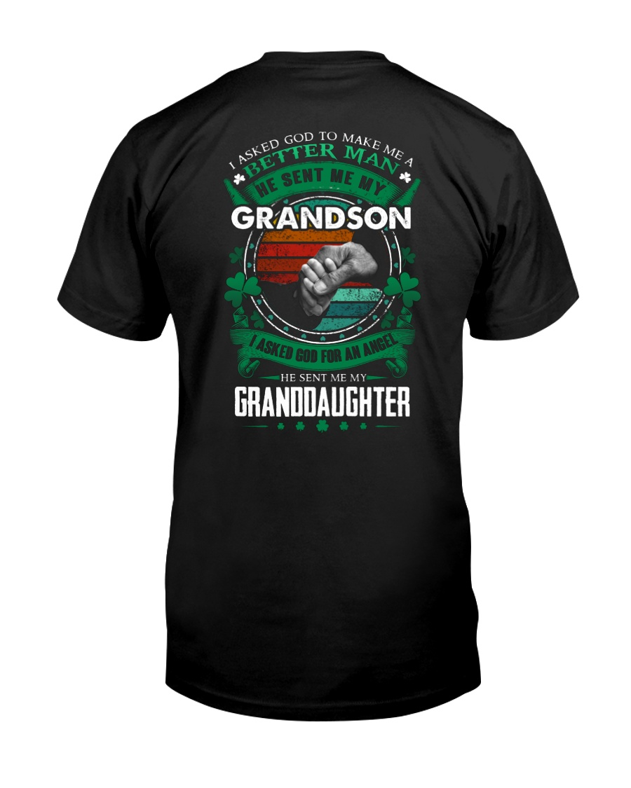 GRANDPA - CLOVERS - MY SON AND MY DAUGHTER Classic T-Shirt