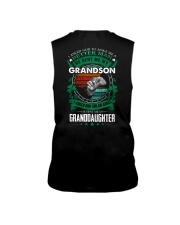 GRANDPA - CLOVERS - MY SON AND MY DAUGHTER Sleeveless Tee thumbnail