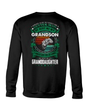 GRANDPA - CLOVERS - MY SON AND MY DAUGHTER Crewneck Sweatshirt thumbnail
