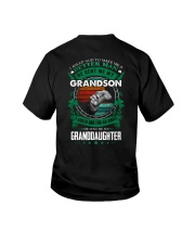 GRANDPA - CLOVERS - MY SON AND MY DAUGHTER Youth T-Shirt thumbnail