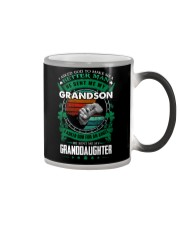 GRANDPA - CLOVERS - MY SON AND MY DAUGHTER Color Changing Mug thumbnail