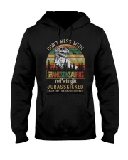 TO MY GRANDSON - T REX - DON'T MESS WITH Hooded Sweatshirt thumbnail