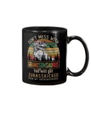 TO MY GRANDSON - T REX - DON'T MESS WITH Mug thumbnail