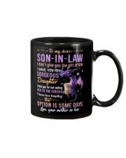 MUG - TO MY SON-IN-LAW - DRAGON - CIRCUS Mug front