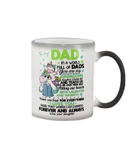 DAUGHTER TO DAD Color Changing Mug thumbnail