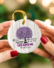 To My Daughter-in-law - Tree - Gift of Life Circle ornament - single (porcelain) aos-circle-ornament-single-porcelain-lifestyles-08
