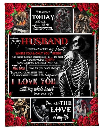 TO MY HUSBAND - COUPLE - I LOVE YOU