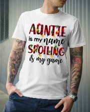 Auntie is my name Spoiling is my game Classic T-Shirt lifestyle-mens-crewneck-front-6