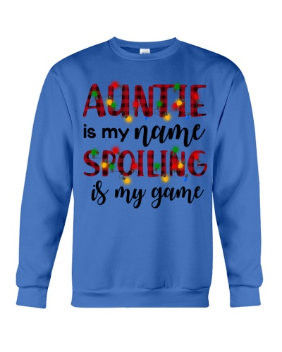 Auntie is my name Spoiling is my game