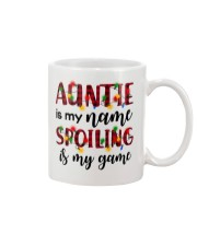 Auntie is my name Spoiling is my game Mug thumbnail