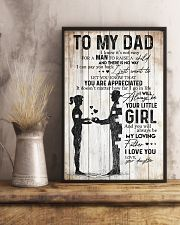 POSTER - TO MY DAD - MY LOVING FATHER 16x24 Poster lifestyle-poster-3