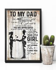 POSTER - TO MY DAD - MY LOVING FATHER 16x24 Poster lifestyle-poster-8