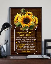 Mom To Daughter - Whenever You Feel Overwhelmed 16x24 Poster lifestyle-poster-2