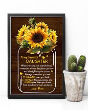Mom To Daughter - Whenever You Feel Overwhelmed 16x24 Poster lifestyle-poster-8