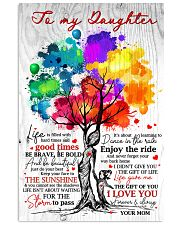 Mom To Daughter Tree - Life Is Filled With Hard  16x24 Poster front