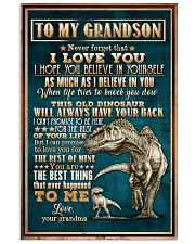 To Grandson - Dinosaur - Never Forget That I Love 16x24 Poster front