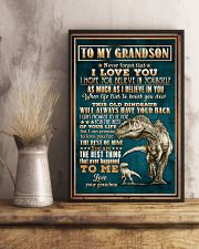 To Grandson - Dinosaur - Never Forget That I Love 16x24 Poster lifestyle-poster-3