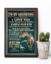 To Grandson - Dinosaur - Never Forget That I Love 16x24 Poster lifestyle-poster-8