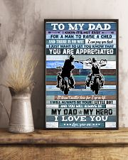 To My Dad - Motorbike - Poster 16x24 Poster lifestyle-poster-3