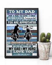 To My Dad - Motorbike - Poster 16x24 Poster lifestyle-poster-8