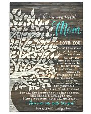 DAUGHTER TO MOM 16x24 Poster front