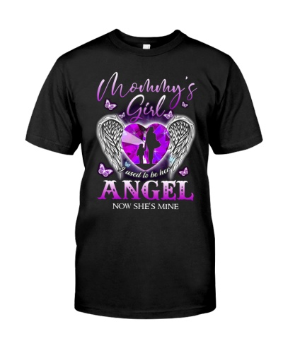 TO MY ANGEL MOTHER - WINGS - MOMMY'S GIRL