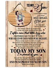 To Son - Hugging - I Sometimes Wish You Were  16x24 Poster front