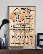 To Son - Hugging - I Sometimes Wish You Were  16x24 Poster lifestyle-poster-2