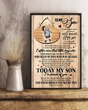 To Son - Hugging - I Sometimes Wish You Were  16x24 Poster lifestyle-poster-3