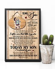 To Son - Hugging - I Sometimes Wish You Were  16x24 Poster lifestyle-poster-8