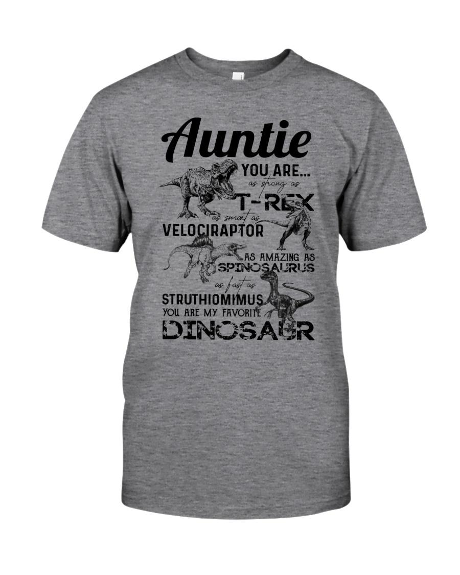 T-SHIRT - AUNTIE - FAVORITE DINOSAUR Classic T-Shirt