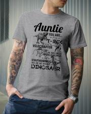 T-SHIRT - AUNTIE - FAVORITE DINOSAUR Classic T-Shirt lifestyle-mens-crewneck-front-6