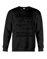 T-SHIRT - AUNTIE - FAVORITE DINOSAUR Crewneck Sweatshirt thumbnail
