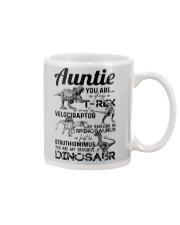 T-SHIRT - AUNTIE - FAVORITE DINOSAUR Mug thumbnail