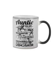 T-SHIRT - AUNTIE - FAVORITE DINOSAUR Color Changing Mug thumbnail
