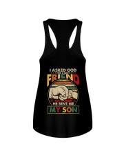 I asked God for a best friend He sent me my son Ladies Flowy Tank thumbnail
