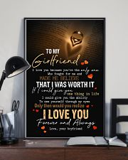 TO MY GIRLFRIEND 16x24 Poster lifestyle-poster-2