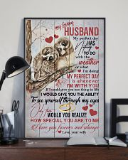 HUSBAND - MY PERFECT DAY IS WHENEVER I'M WITH YOU 16x24 Poster lifestyle-poster-2