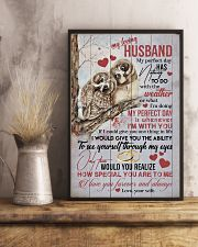 HUSBAND - MY PERFECT DAY IS WHENEVER I'M WITH YOU 16x24 Poster lifestyle-poster-3