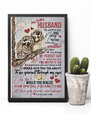 HUSBAND - MY PERFECT DAY IS WHENEVER I'M WITH YOU 16x24 Poster lifestyle-poster-8