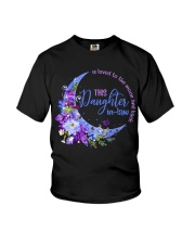 This daughter-in-law  is loved to the moon back Youth T-Shirt thumbnail