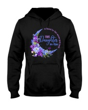 This daughter-in-law  is loved to the moon back Hooded Sweatshirt thumbnail